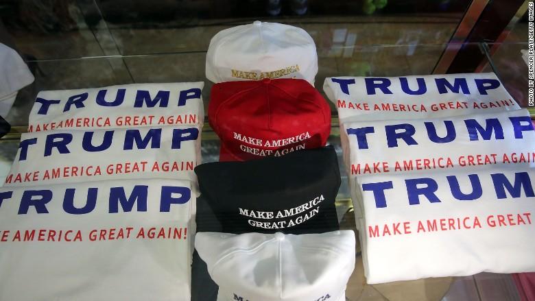 Trump merchandise
