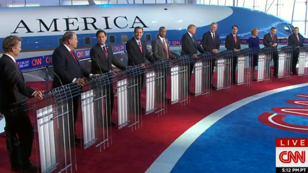The GOP debate in three minutes