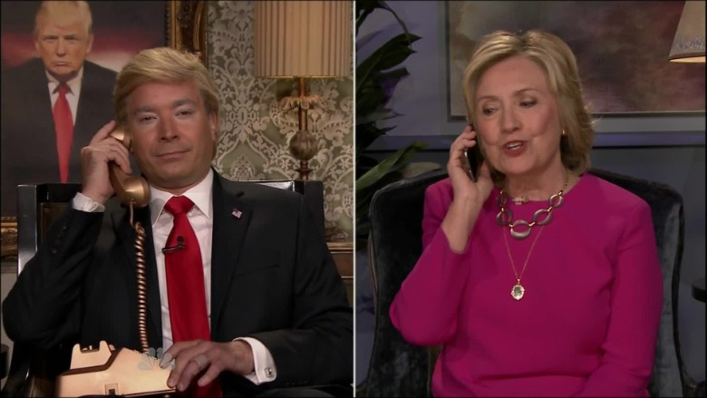 Jimmy Fallon Hillary Clinton Donald Trump_00001507