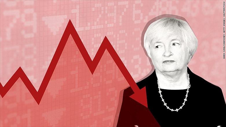 yellen volatile market