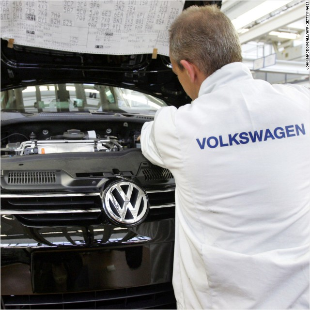 Volkswagen suspends 9 managers over diesel scandal