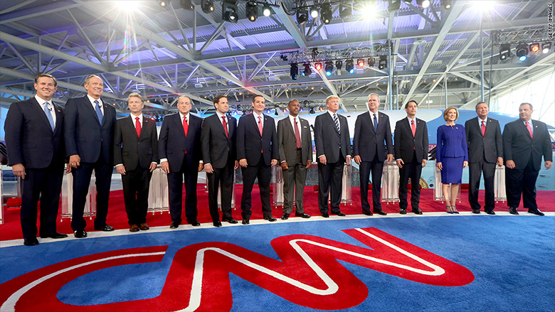 cnn presidential debate