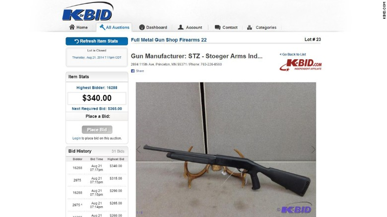 government guns kbid auction page