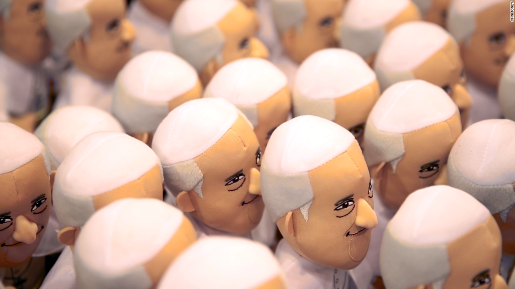 Pope dolls? Pope beer? Philly's got that.