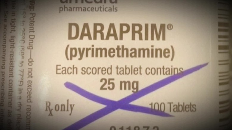 daraprim drug price hike outrage