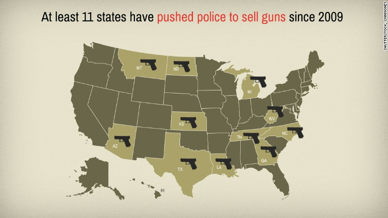 government guns firearms map