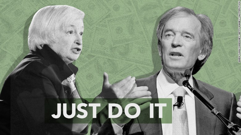 janet yellen bill gross