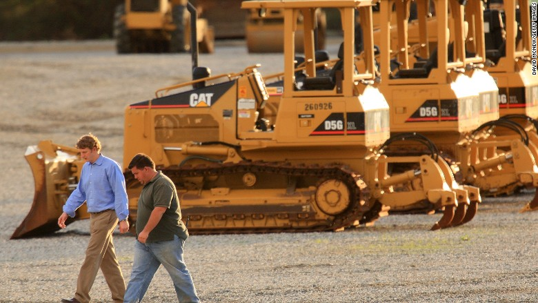 Caterpillar - 8 biggest job killing companies of 2015 - CNNMoney