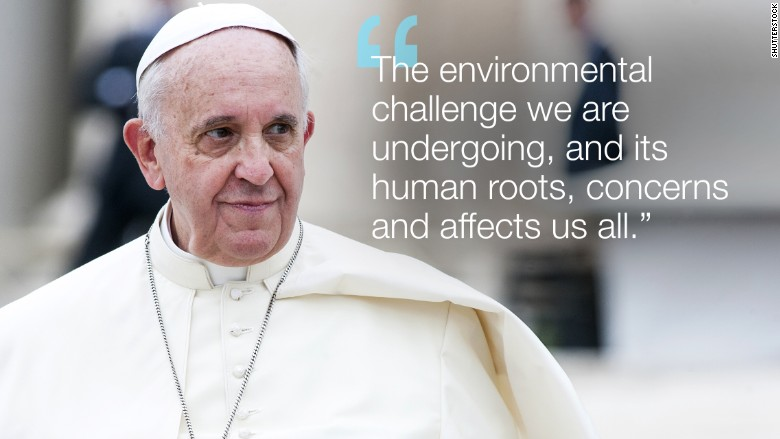 pope francis climate action