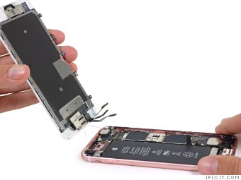 sale retailer a50d6 a76db A look on the inside: iPhone 6S