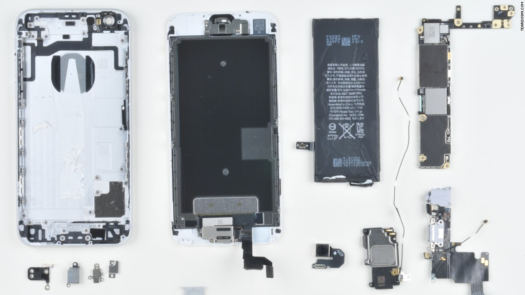iPhone 6S: Cost to build