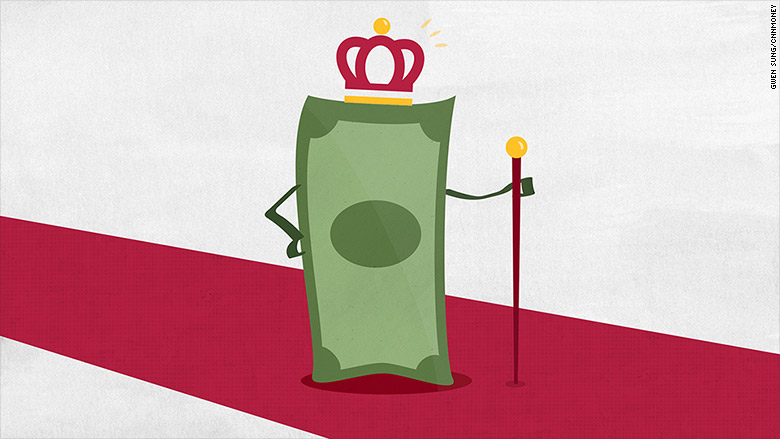 Cash is king. It's better than stocks or bonds in 2015