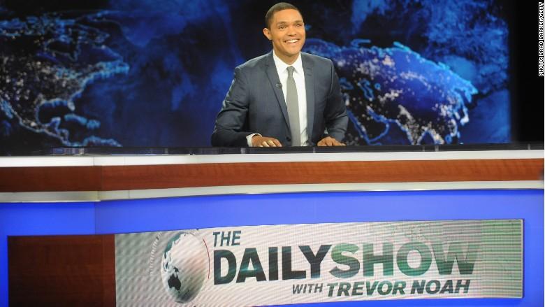 daily show trevor noah desk