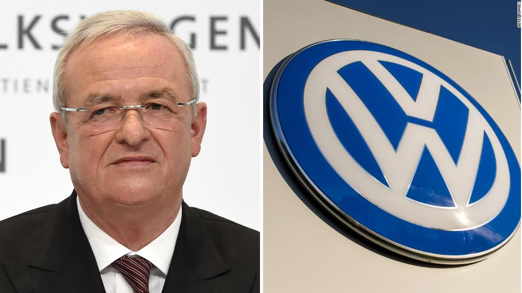 Volkswagen diesel scandal: Former CEO charged with fraud