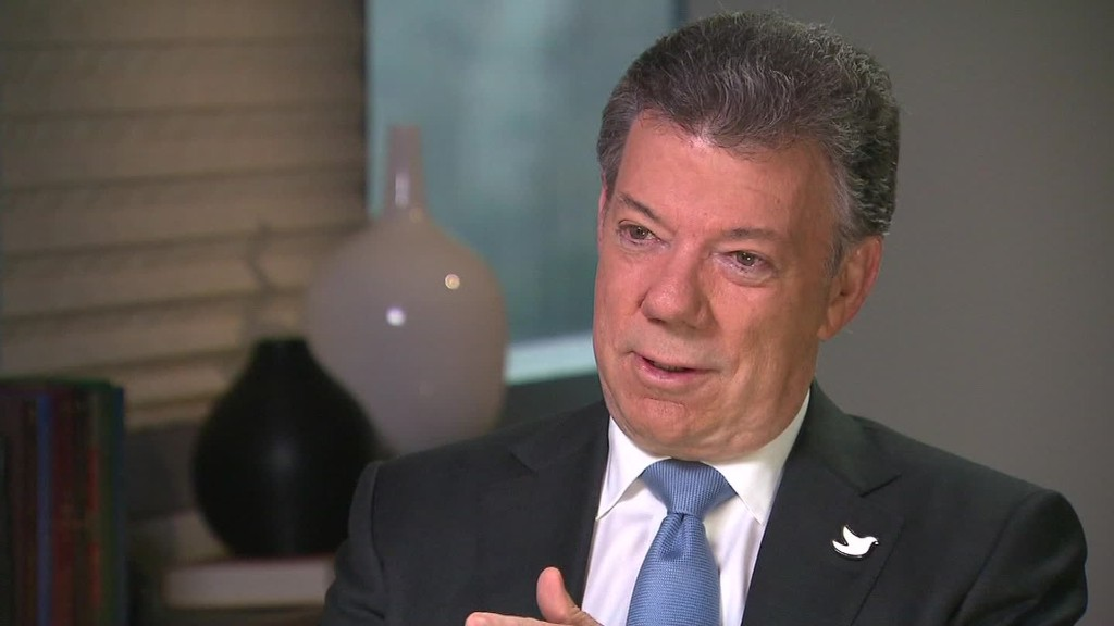 Colombia's leader on FARC peace and Venezuela tensions