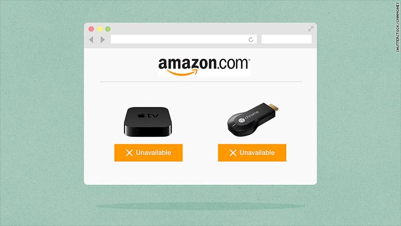 amazon apple tv chromecast Custom GS