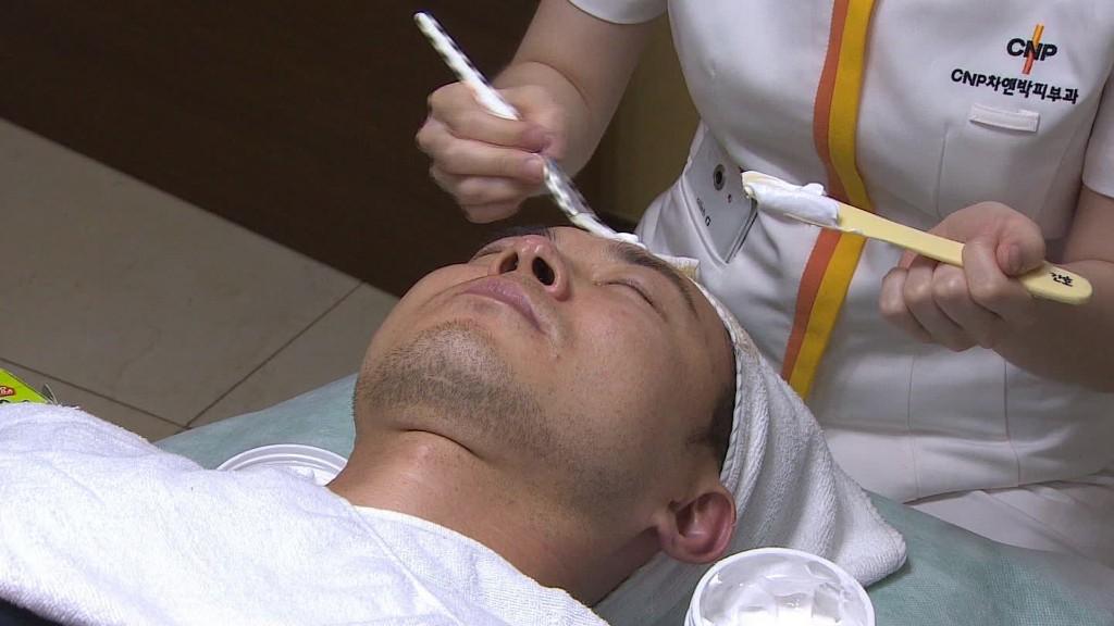 Men's grooming industry thrives in South Korea