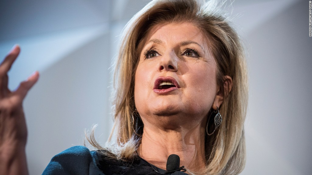 Arianna Huffington steps down from HuffPo