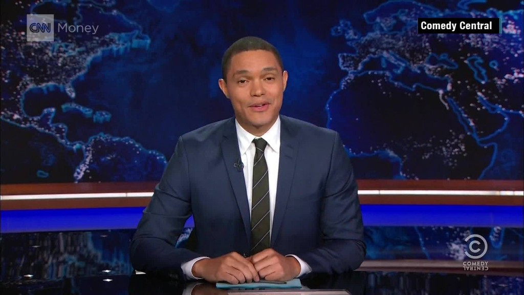 Trevor Noah's first week on 'The Daily Show'