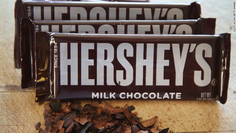 Hershey Stock Crashes 11 After Chocolate Merger Talks End