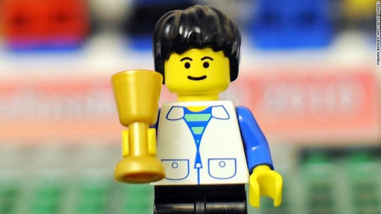 lego figure trophy