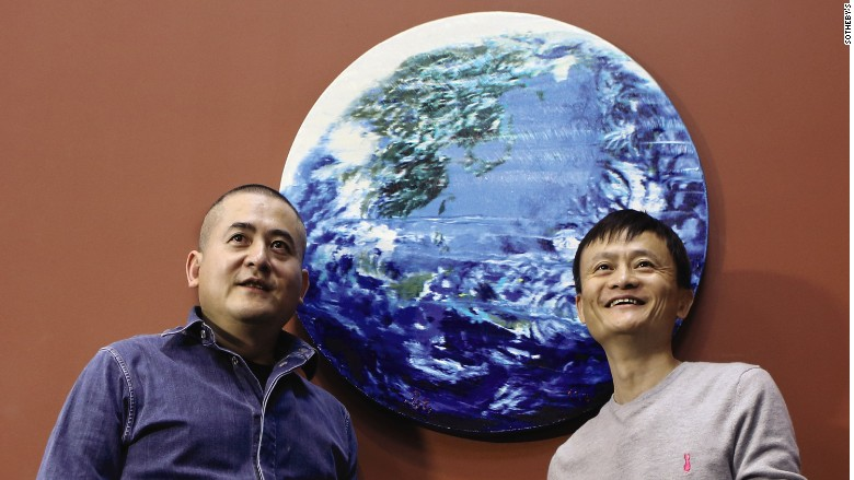 Jack Ma sells his debut painting for $5.4 million