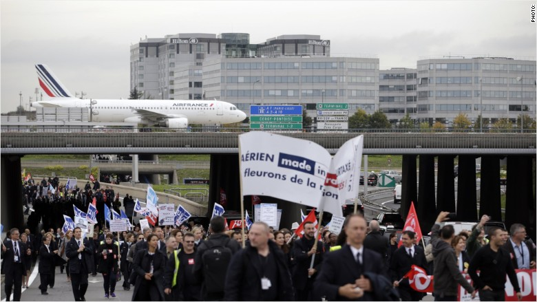 air france protest 3