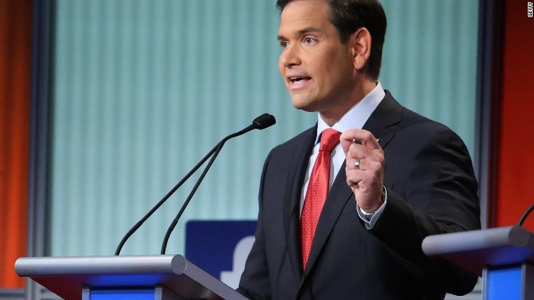 Marco Rubio debate