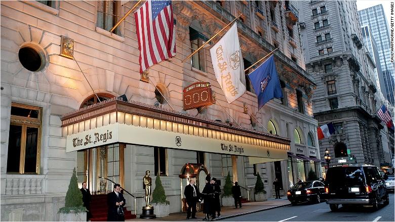 St. Regis hotel New York City