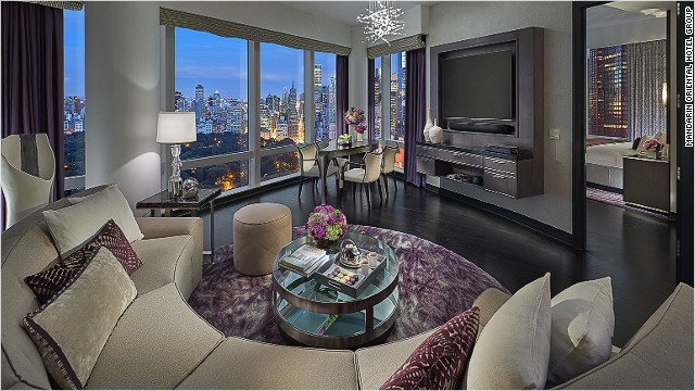 10 Most Expensive City Hotels In The U S