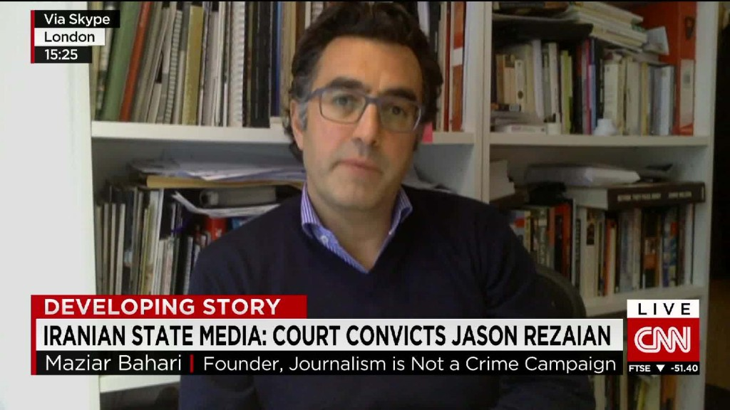 Journalist recounts his time in Iranian prison