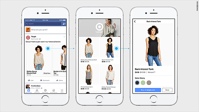 facebook canvas shopping 1