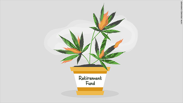 retirement marijuana