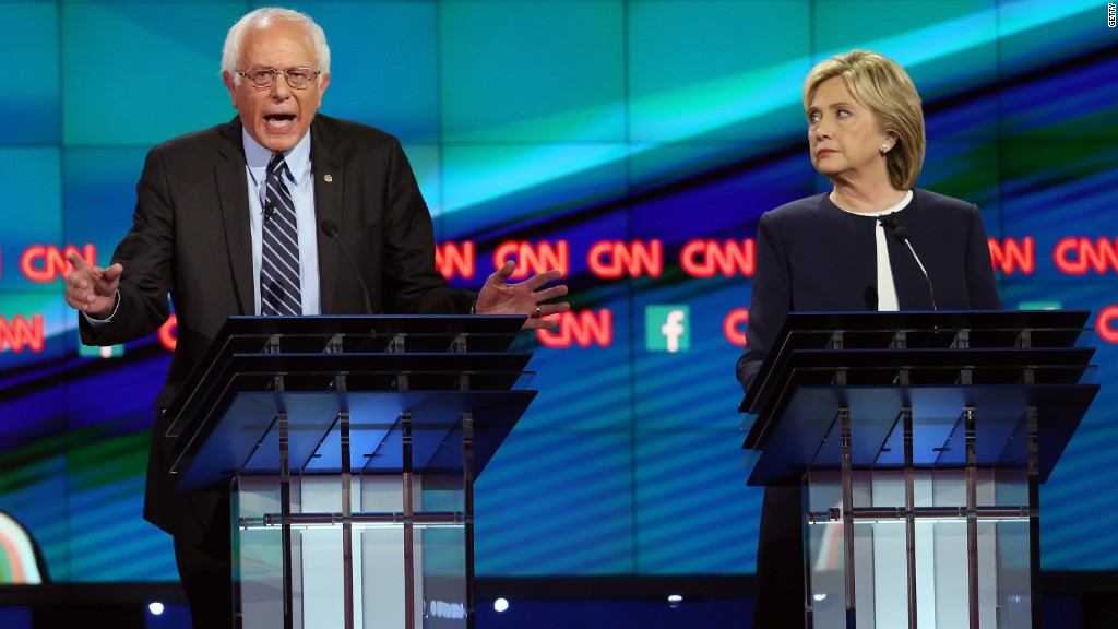 Dem debate puts middle class front and center