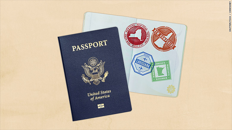 passport domestic travel
