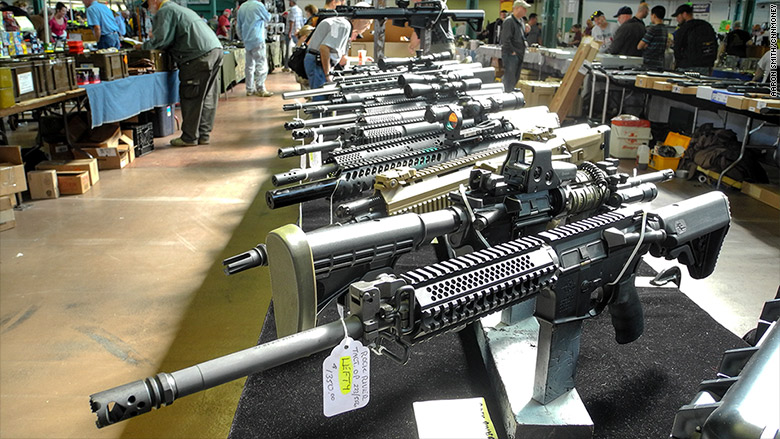 What Really Goes On At A Gun Show