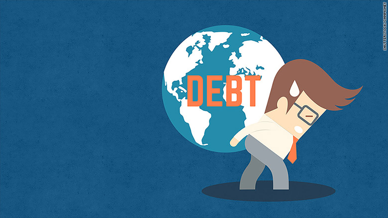 america debt global slowdown 2