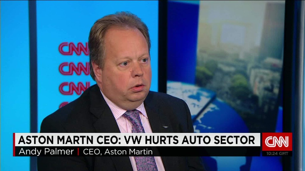 Aston Martin CEO on diesel's future after VW scandal