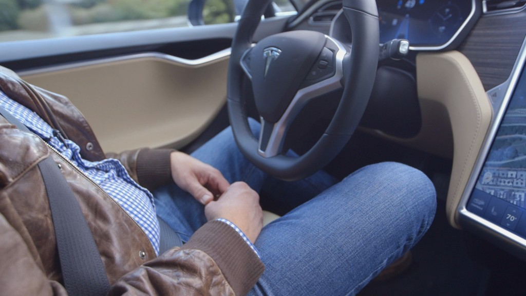 Tesla makes handsfree driving a reality