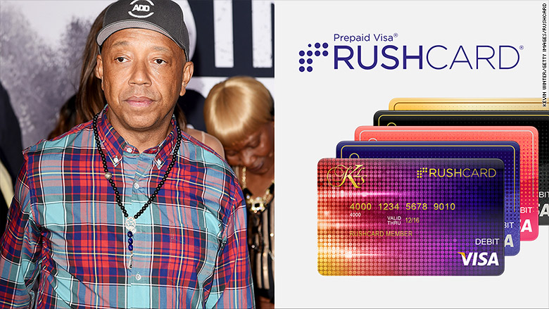russell simmons rushcard
