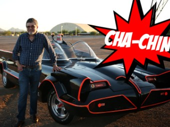 Driving The 5 Million Batmobile