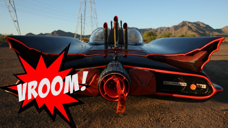 batmobile tail end vroom gfx
