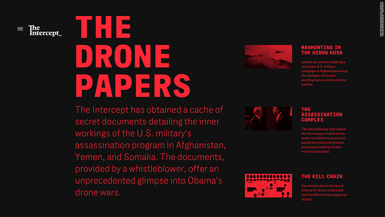 the intercept drone papers