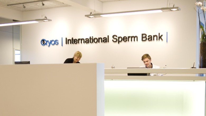 sperm bank cryos office