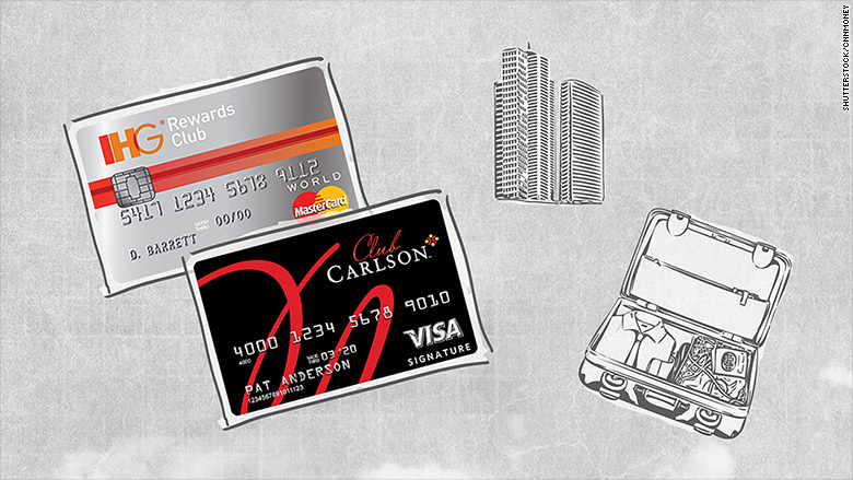 Hotel loyalists best credit cards for business travelers cnnmoney ihg club carlson colourmoves