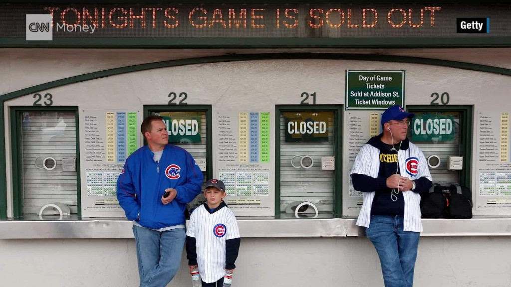 Want to see the Cubs at Wrigley? It'll cost ya!