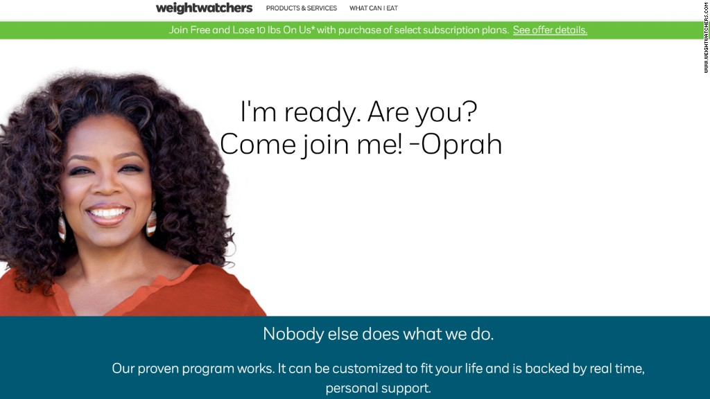 Weight Watchers soars on Oprah investment