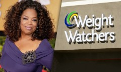 Oprah's weight is down, Weight Watchers shares are up