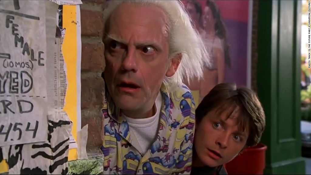 Back to the Future day is here, and so are products from the movie