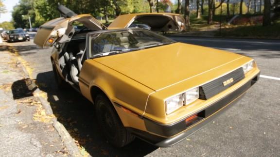 'Back to the Future': The real DeLorean